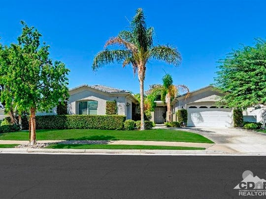 A house in Versailles, a Rancho Mirage development.