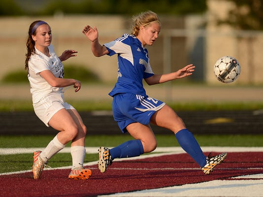 GPG Girls soccer Southwest vs De Pere