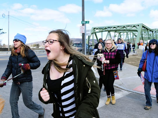 March For Our Lives, Corning, New York, March 24, 2018.