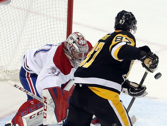 USP NHL: MONTREAL CANADIENS AT PITTSBURGH PENGUINS S HKN PIT MTL USA PA