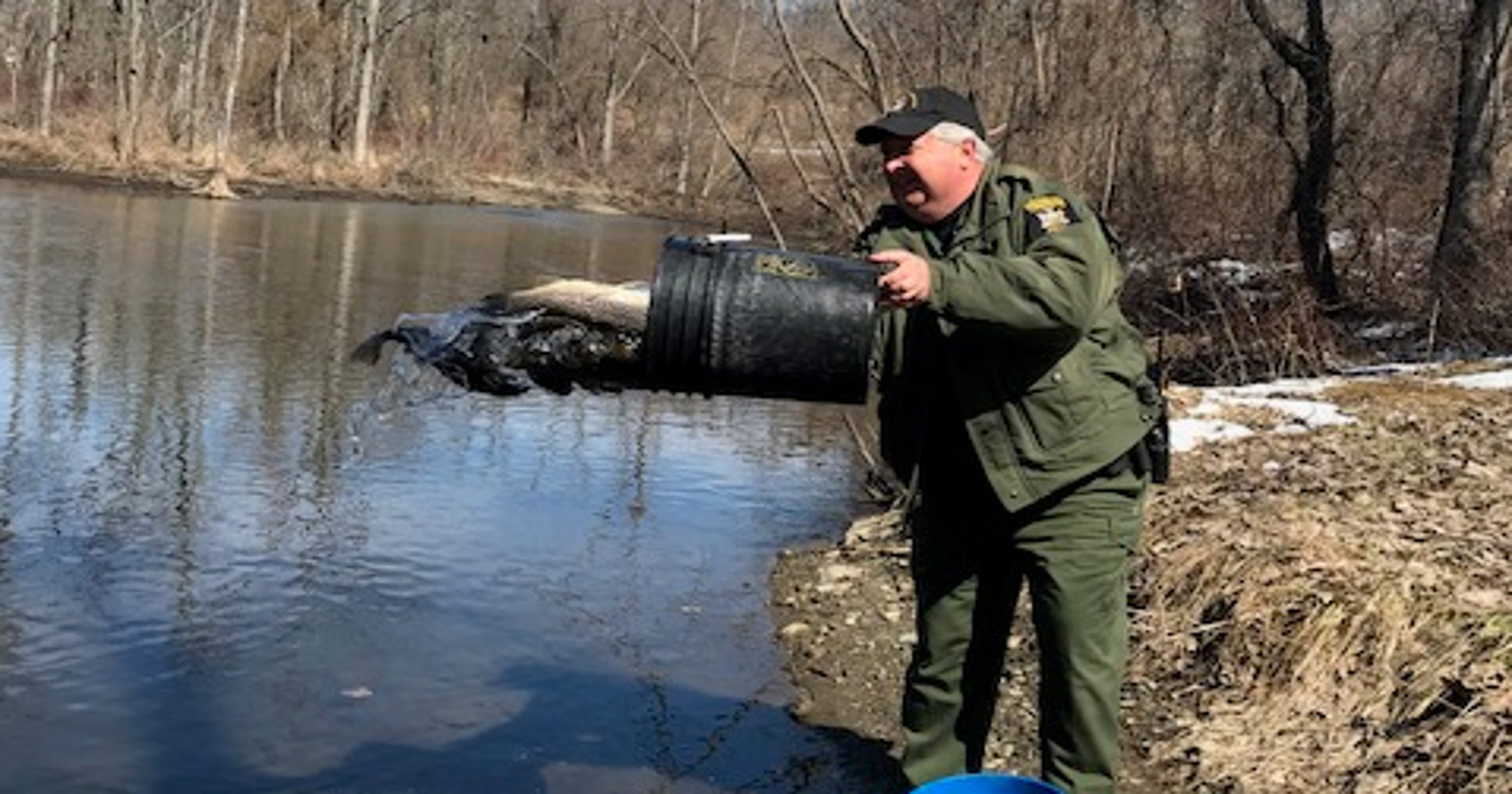 Weather slows trout stocking activity