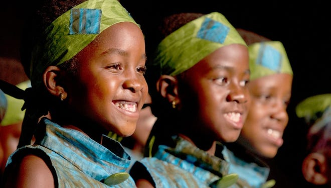 Members of the African Children's Choir
