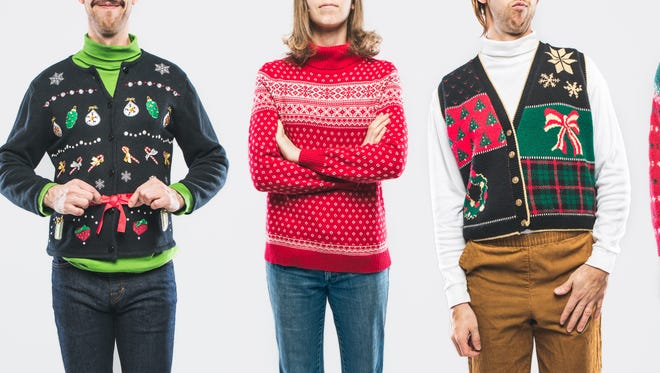Take your ugly sweater out for a spin at Double Nickel Brewing this weekend.
