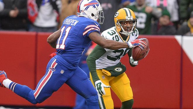 It was another disaster for the Packers at Ralph Wilson Stadium in a 21-13 defeat.