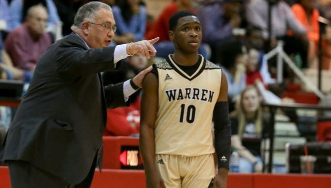 Warren Central and Dean Tate are on top in Class 4A poll.
