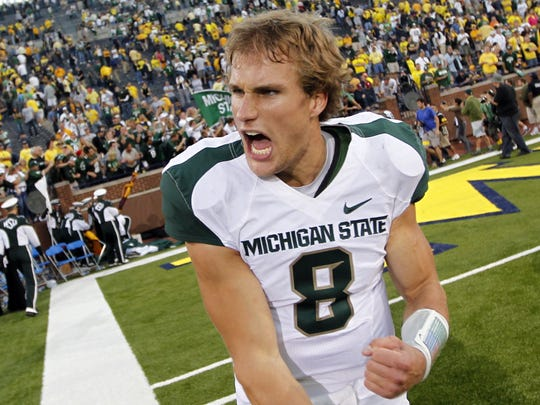Kirk Cousins led the initial rise of MSU's program under Mark Dantonio with 22 wins in 2010 and '11.