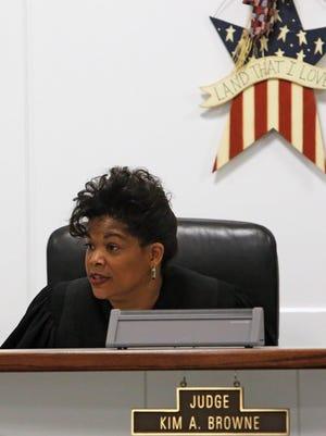 Franklin County Juvenile Court Judge Kim A. Browne