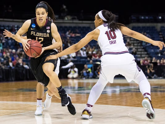 NCAA Womens Basketball: NCAA Tournament-Stockton Regional-South Carolina vs. Florida State