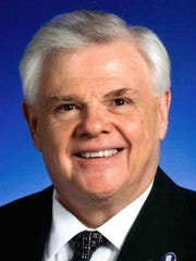 Sens. Ken Yager, R-Kingston, is seeking the chairmanship of the Senate's Republican caucus.
