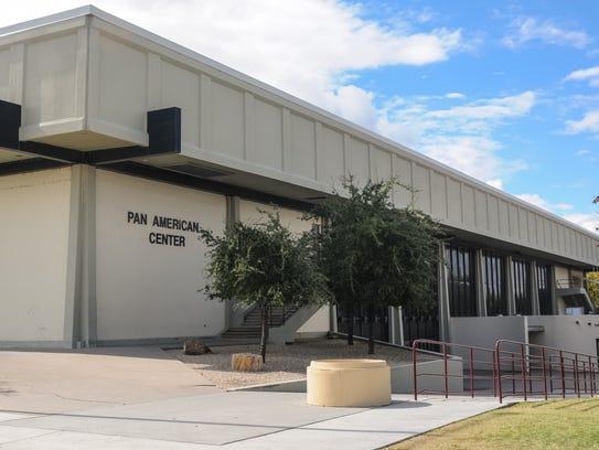 Pan American Center at 1810 E. University Ave. has