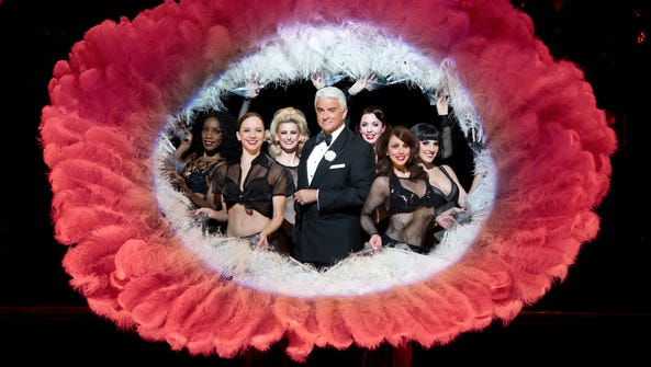 """John O'Hurley and the cast of """"Chicago,"""" which opens"""