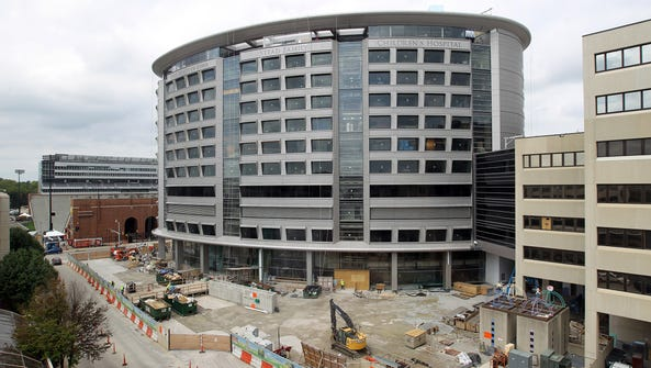 The University of Iowa Children's Hospital is pictured