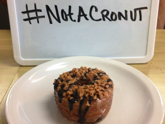 """In 2014, Rounds Bakery received cease-and-desist letter from a New York law firm demanding that it end the """"use of the word 'cronut,"""" a trademark federally registered by another party. Rounds said it did not use the term."""