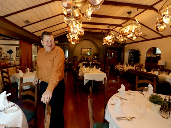 "Vinny Vasti, owner of Bella Gianna's in Congers, photographed May 18, 2018. Celebrity Chef Gordon Ramsay's recently brought is TV show ""24 Hours to Hell and Back"" to the restaurant. The result was a totally renovated dining room and menu. The restaurant will be featured on the show in June."