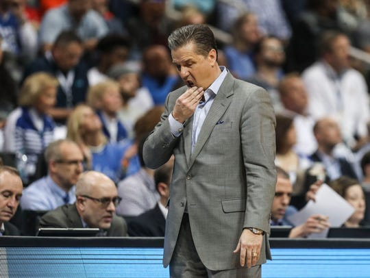 Kentucky's John Calipari didn't have the answers in