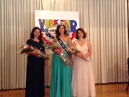 Alexis Cash competed against  Taylor Shultz of Dover Township  and Jacklyn Henshaw of Red Lion for the crown.