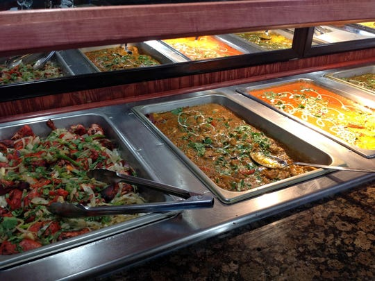 The daily lunch buffet ($10.95) at Zayka is a wonderful