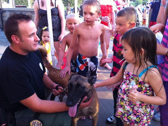 Meet Springfield police officers and firefighters during
