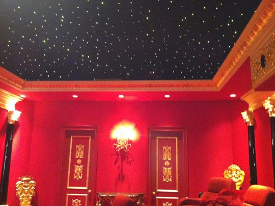 A bonus room can be transformed into a theater with ceilings with fiber optics, sound panels and theater seating.