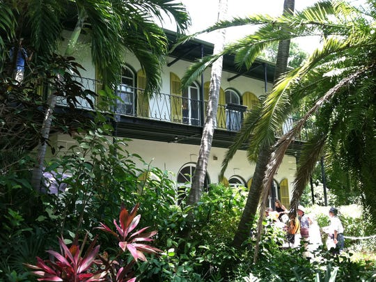 The Ernest Hemingway House and Museum in Key West was the writer's home for most of the 1930s.