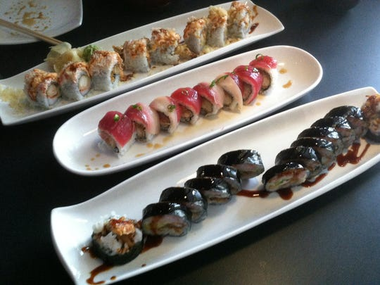 Akebono offers a variety of sushi rolls and more.