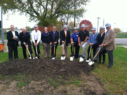 PTC 1029 bank groundbreaking