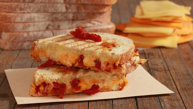 Uber Tap Room pairs fancy grilled cheese sandwiches with craft beers.