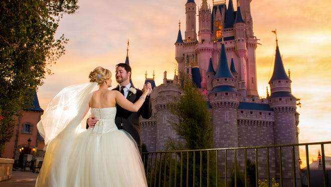 Capitalizing on the surging trend of destination weddings and the popularity of its theme parks and other properties, Disney offers Fairy Tale Weddings.