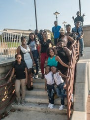 Organizer Patricia Jordan and participants in the upcoming