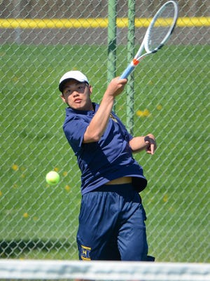 Freshman Joel Pan and Marquette are moving on to state after edging Nicolet in a WIAA tennis sectional