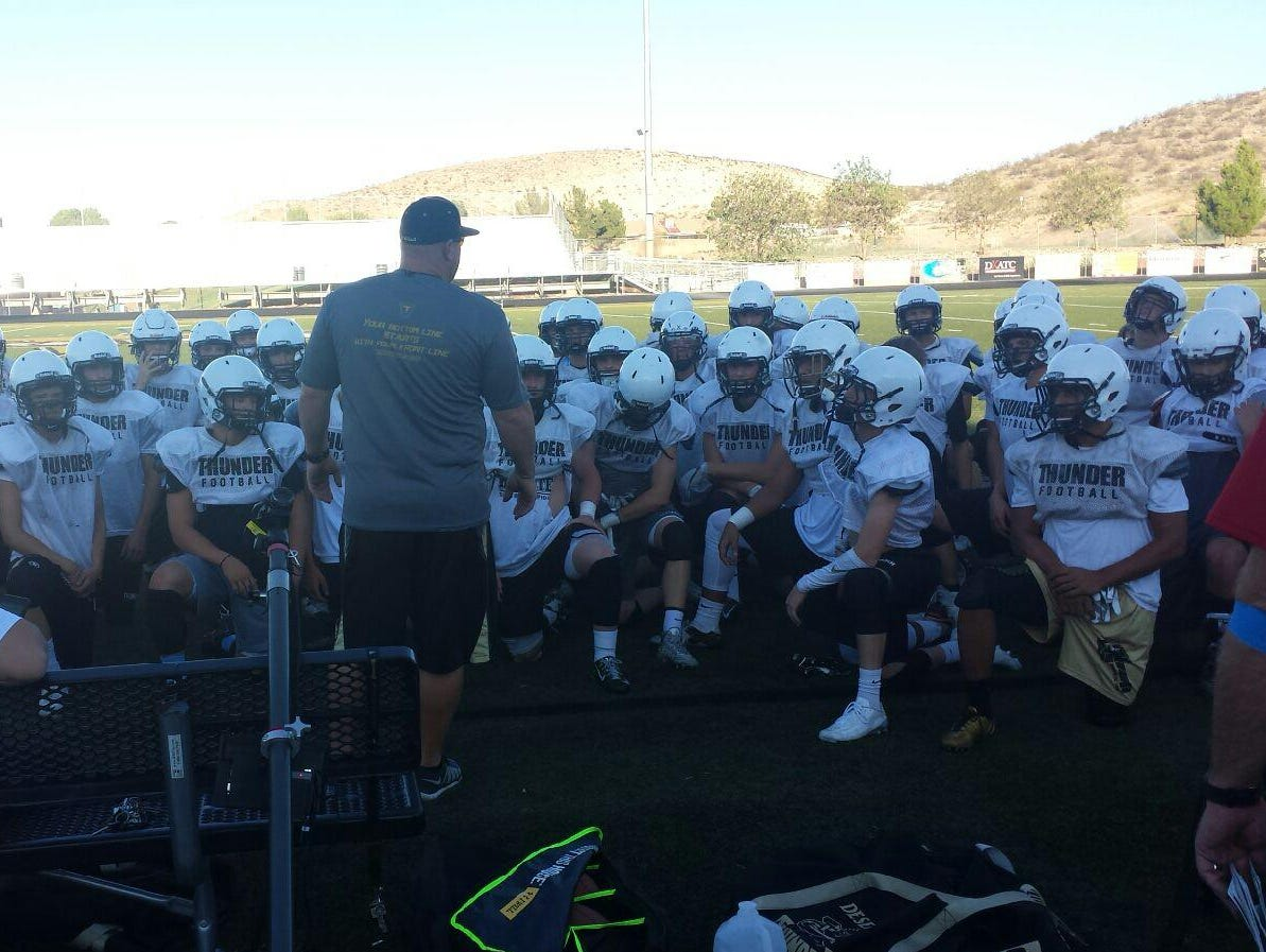 Desert Hills looks to rebound after a disappointing season last year and is one of the favorites to win the state 3AA title.