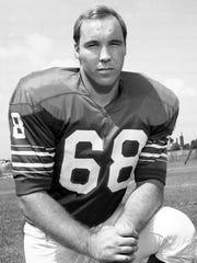 Buffalo Bills Joe DeLamielleure, shown in this 1973