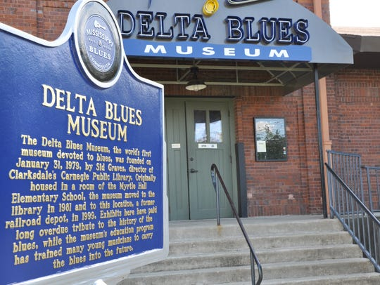 The Delta Blues Museum in Clarksdale is the nation's