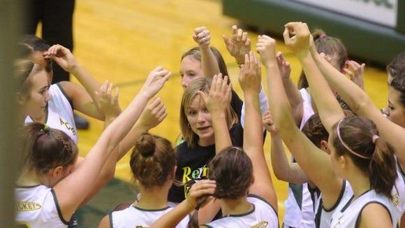 Reynolds volleyball coach Lori Ledford
