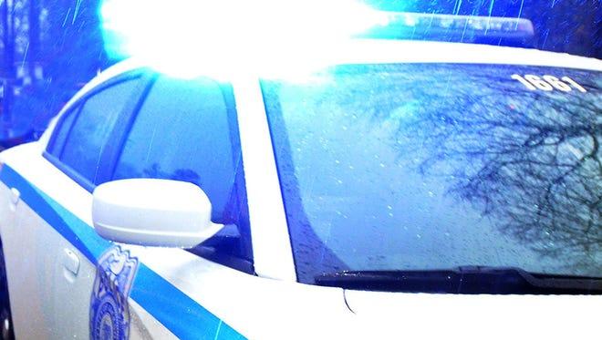 Photo illustration of a City of Jackson police car.