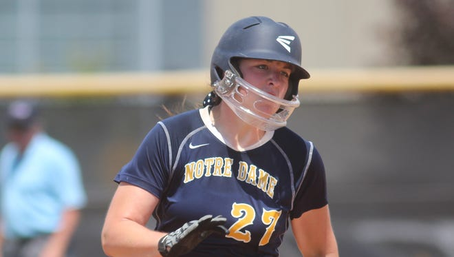 NDA's Haylee Smith is NKY's top softball player to watch this season.