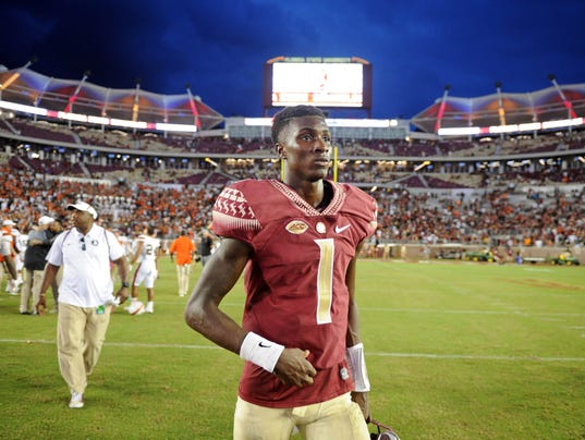 NCAA Football: Miami at Florida State