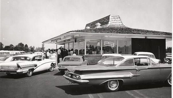 The Bob's Hamburgers chain started in Salem in 1955. This location in Keizer was opened in 1966.