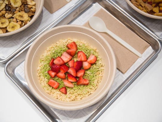 The Kellogg's cereal cafe in Times Square will feature
