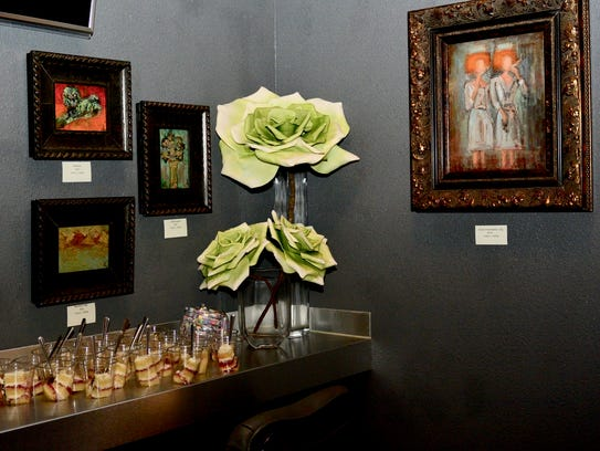The Maplewood began regularly showing art more than