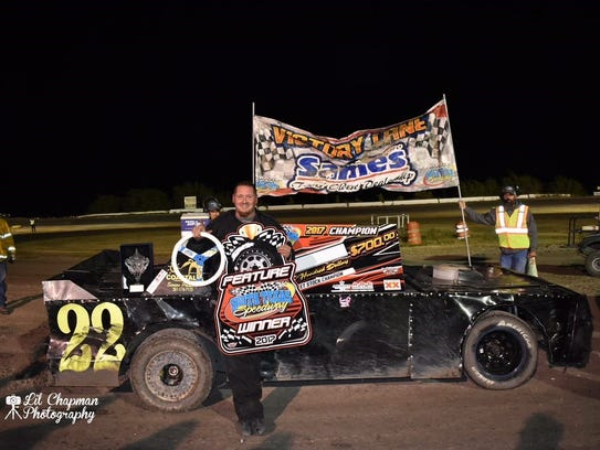 Michale Pesek was the 2017 Street Stock Champion at