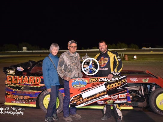 Dustin Butcher was crowned the 2017 Limited Modified