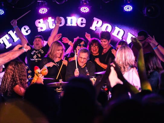 Max Weinberg at the Stone Pony.
