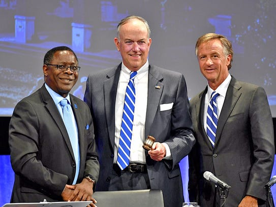 Middle Tennessee State University President Sidney