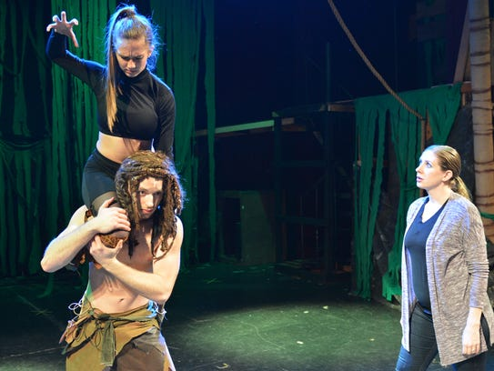 """Tarzan: the Stage Musical"" choreographer Stephanie"