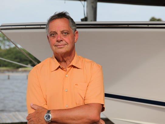 Pensacola jeweler and fly fisherman Corbett Davis Jr.