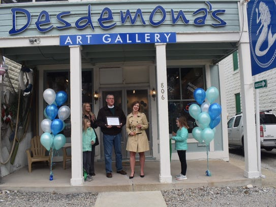 Desdemona's Art Gallery in Marblehead is open for the