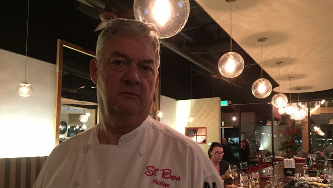 Philippe Caupain, owner of Si Bon in Rancho Mirage