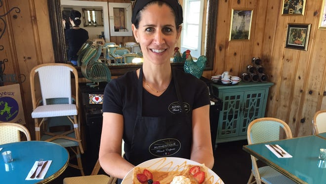 Dominique Georgas, owner of Authentique French Creperie in Simpsonville.