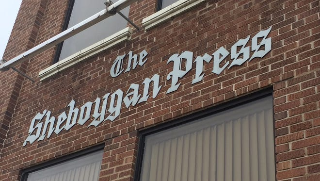 The Sheboygan Press building pictured April 13, 2018.